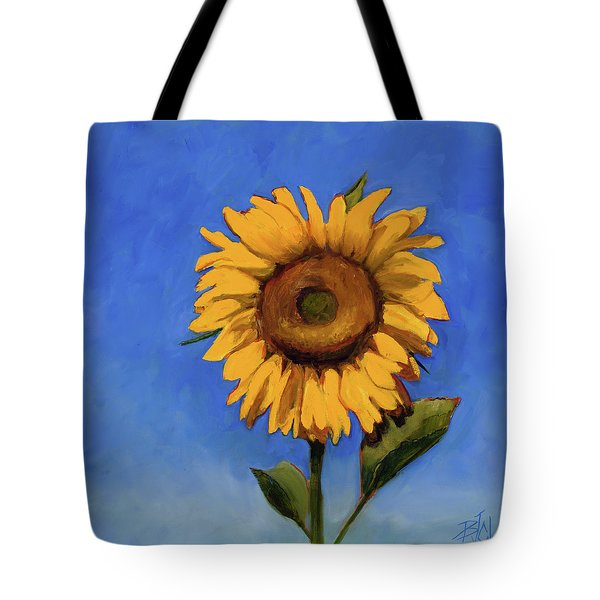 Tote Bag featuring the painting Summer Fun by Billie Colson