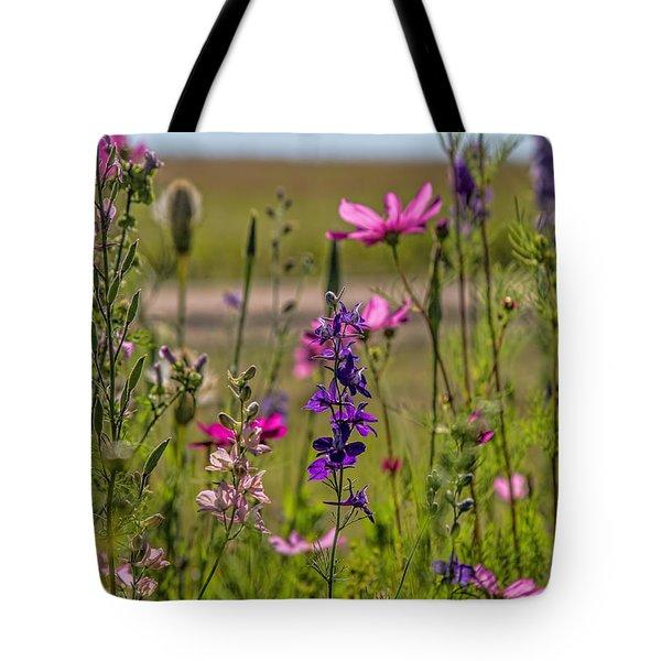 Summer Garden Tote Bag by Alana Thrower
