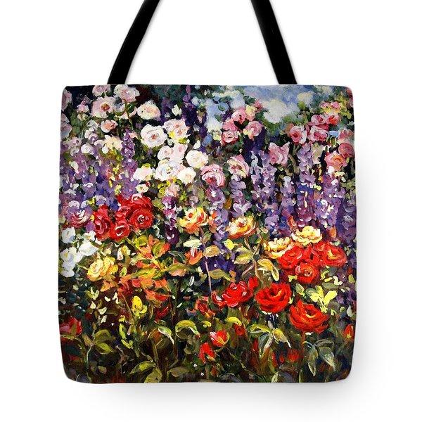Summer Garden II Tote Bag