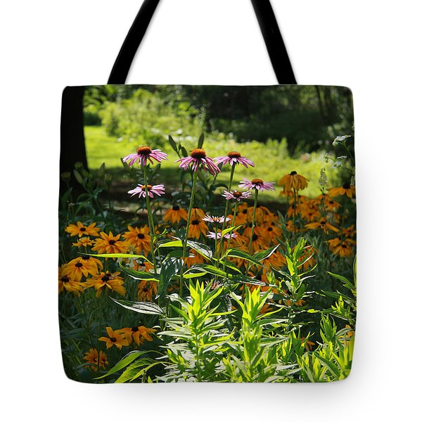 Summer Garden Tote Bag by Yvonne Wright