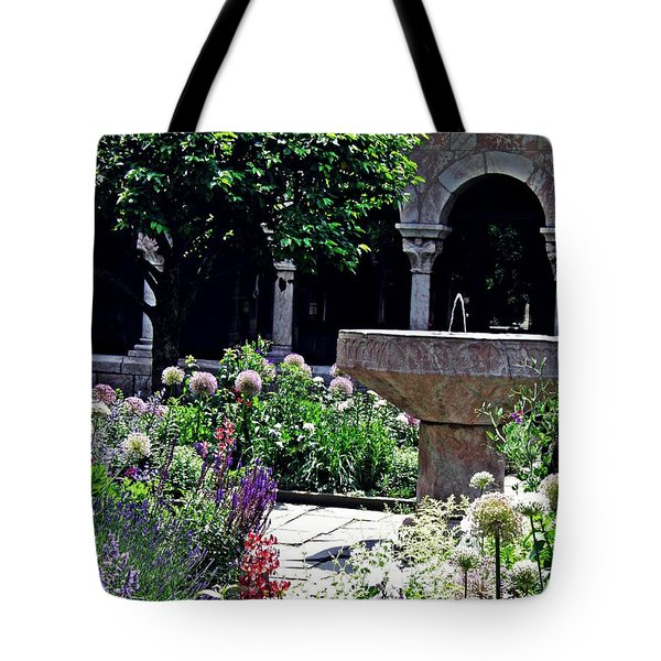 Summer Gardens At The Cloisters 1  Tote Bag