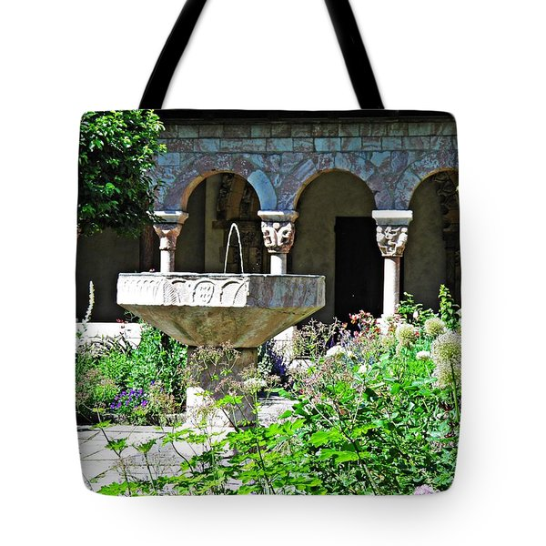 Summer Gardens At The Cloisters 8    Tote Bag