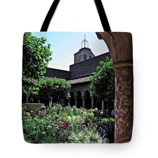 Summer Gardens At The Cloisters 9   Tote Bag
