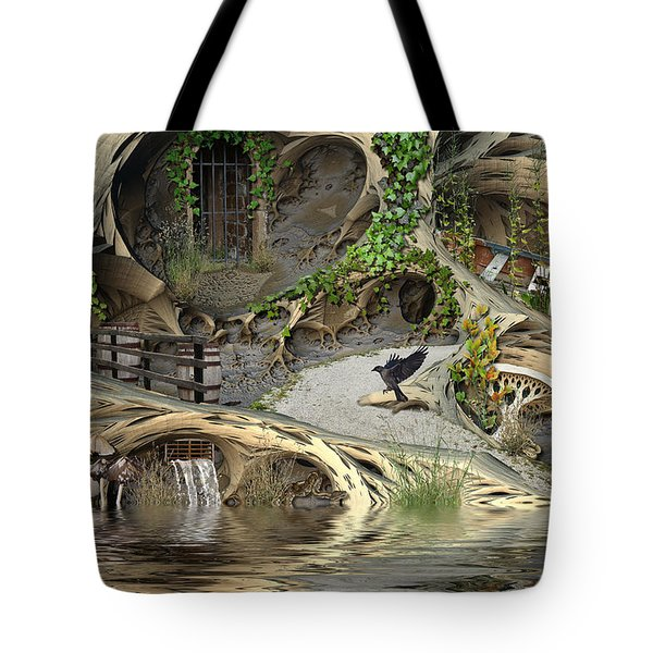 Summer Getaway Tote Bag