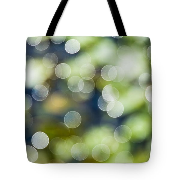 Summer Glitter Tote Bag