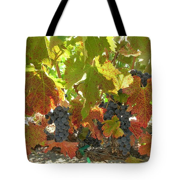 Summer Grapes Tote Bag