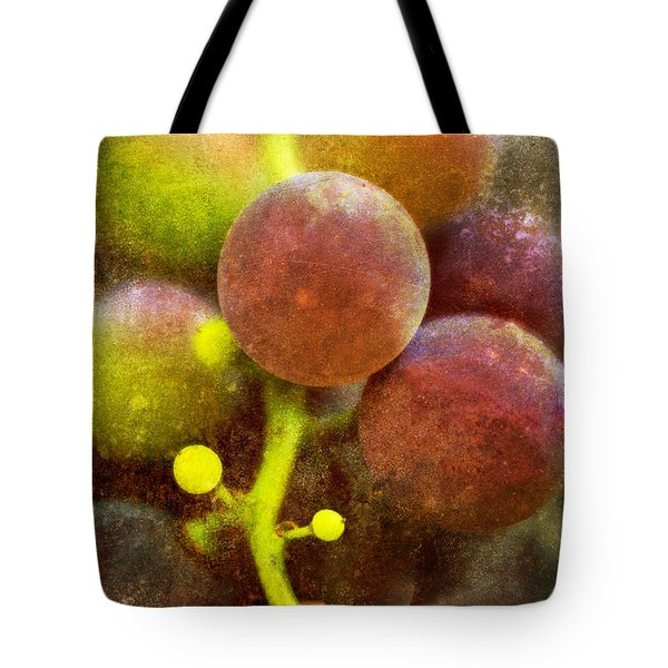 Tote Bag featuring the photograph Summer Grapes by Tom Singleton