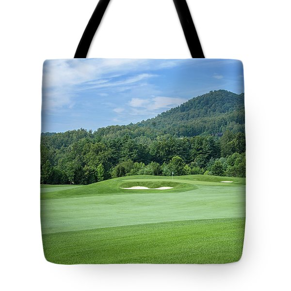 Tote Bag featuring the photograph Summer Green by Claire Turner