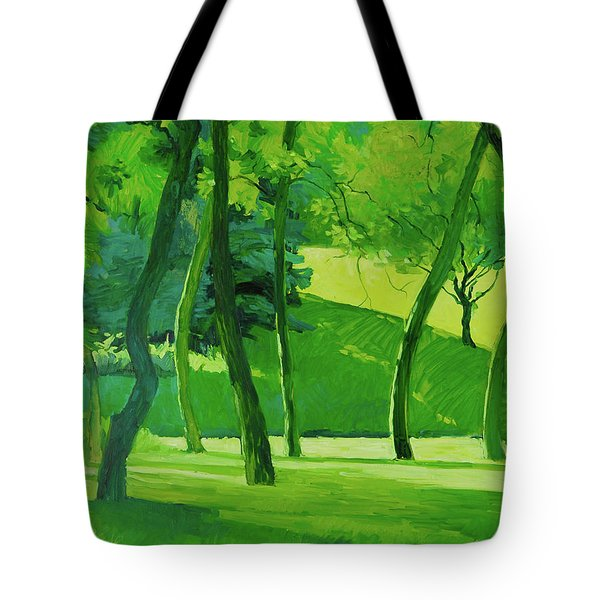 Summer Green Tote Bag