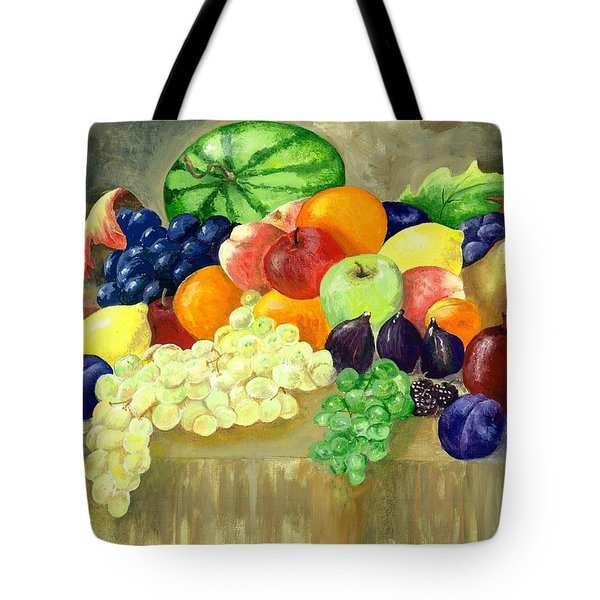 Summer Harvest Tote Bag by Sharon Mick
