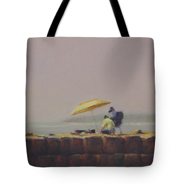 Summer Haze Tote Bag by Barbara Groff