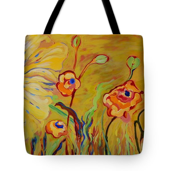 Summer Hibiscus Flower Tote Bag