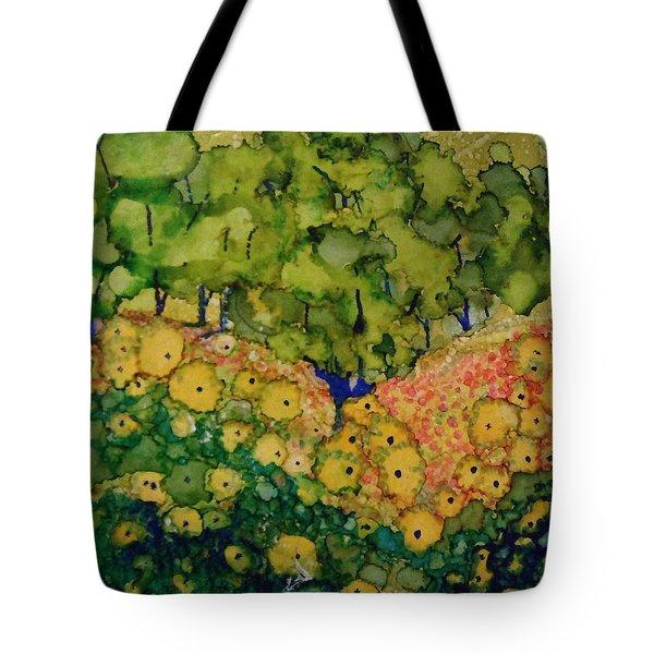Summer Hills Tote Bag