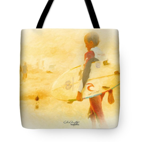 Tote Bag featuring the painting Summer II by Chris Armytage