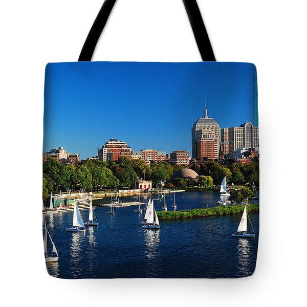 Summer In Boston Tote Bag