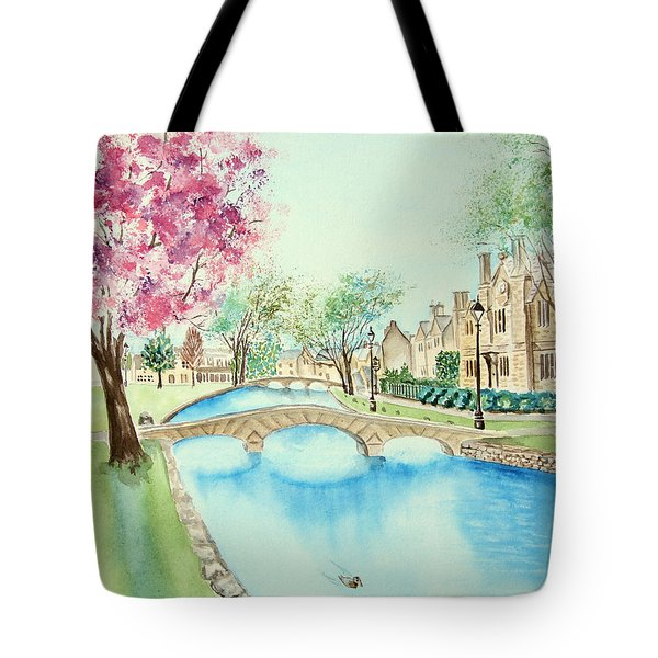 Summer In Bourton Tote Bag