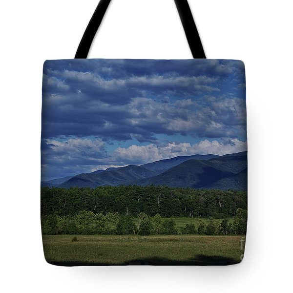 Tote Bag featuring the photograph Summer In Cades Cove by Douglas Stucky