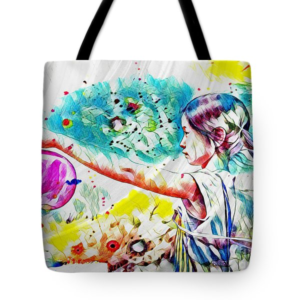 Summer In China Tote Bag