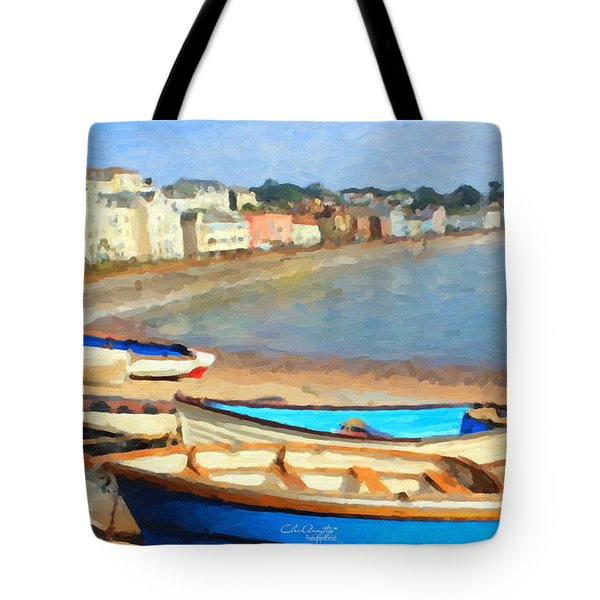Summer In Dawlish Tote Bag