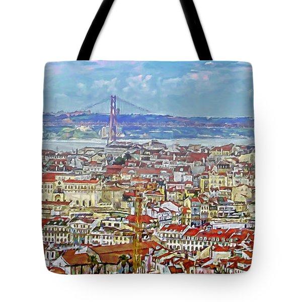 Summer In Lisbon Tote Bag