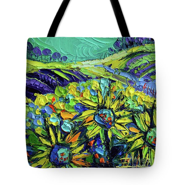 Summer In Provence Tote Bag