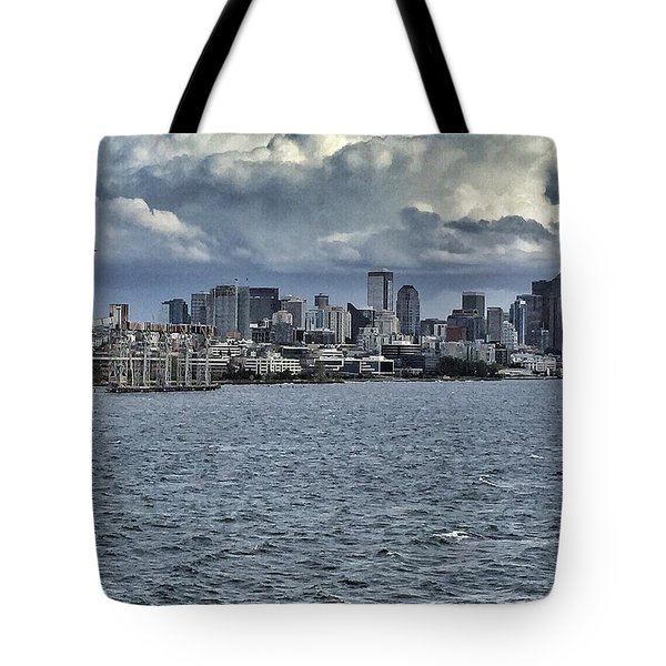 Summer In Seattle Tote Bag