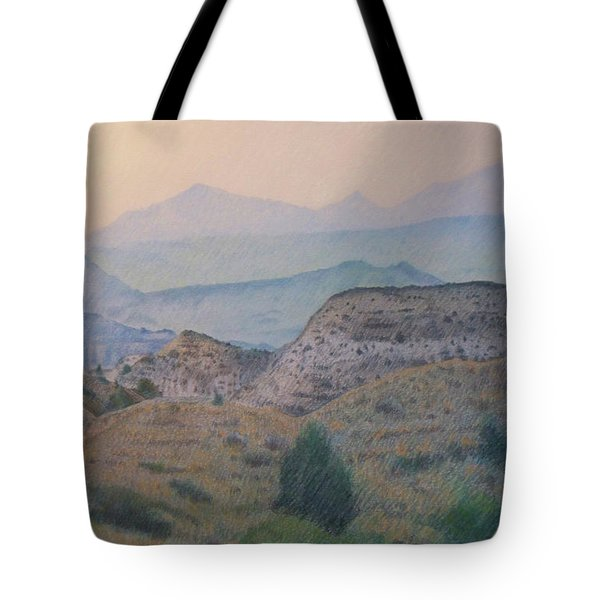 Summer In The Badlands Tote Bag