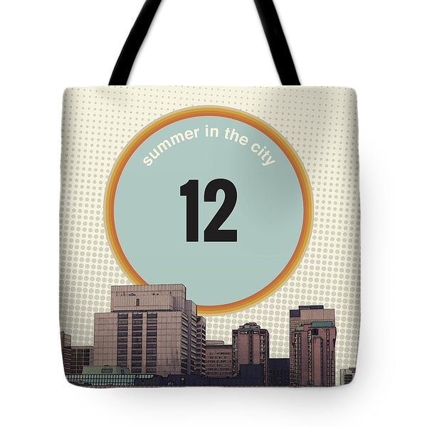 Tote Bag featuring the photograph Summer In The City by Phil Perkins