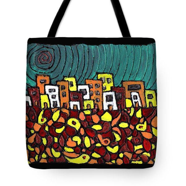 Summer In The City Tote Bag by Wayne Potrafka