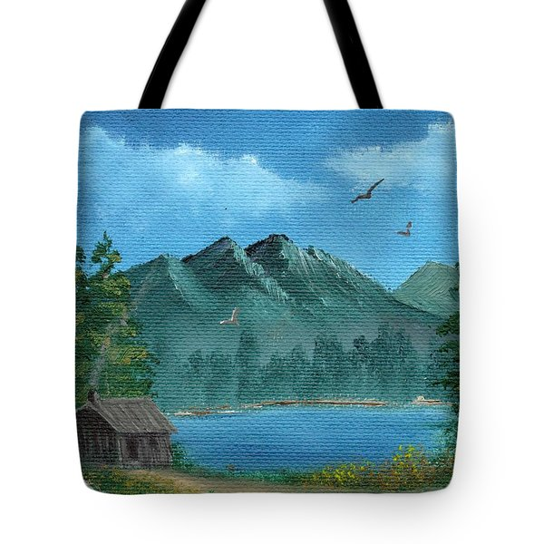 Summer In The Mountains Tote Bag