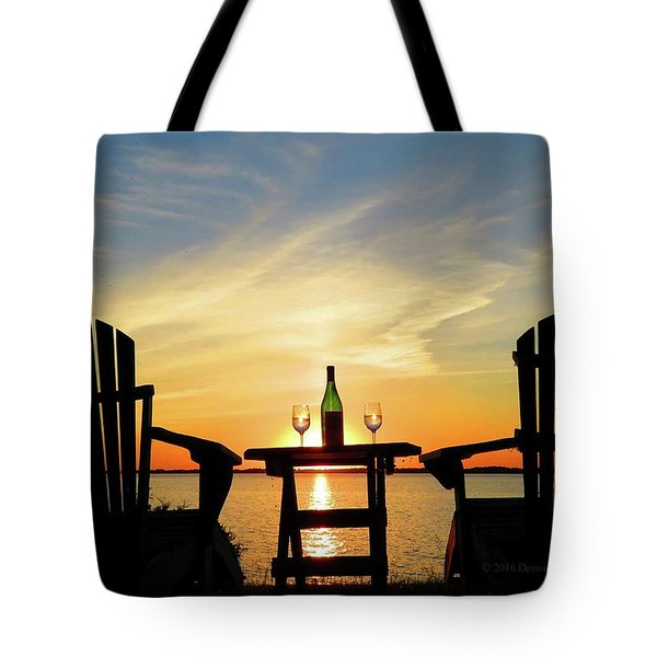 Summer In The River Tote Bag