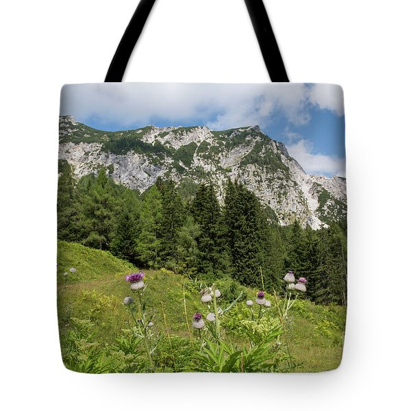 Summer In The Slovenian Alps Tote Bag