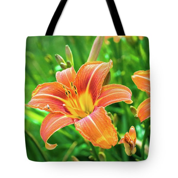 Tote Bag featuring the photograph Summer Jubilation by Bill Pevlor