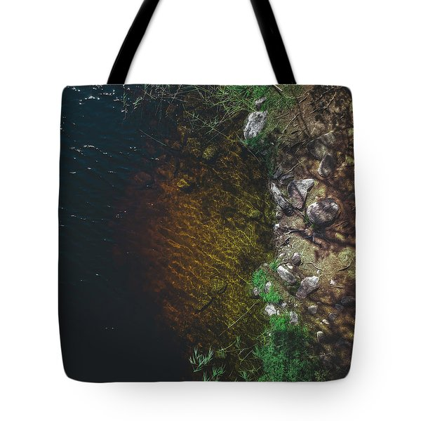 Summer Lake - Aerial Photography Tote Bag