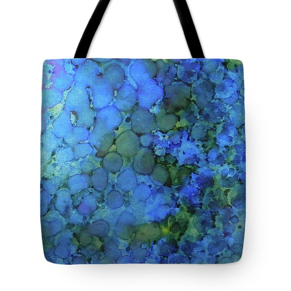Tote Bag featuring the painting Summer Lake Ink #5 by Sarajane Helm