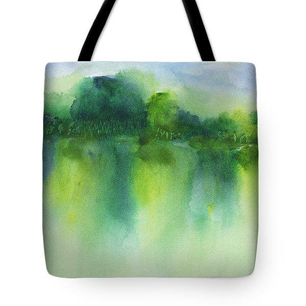 Summer Landscape Tote Bag
