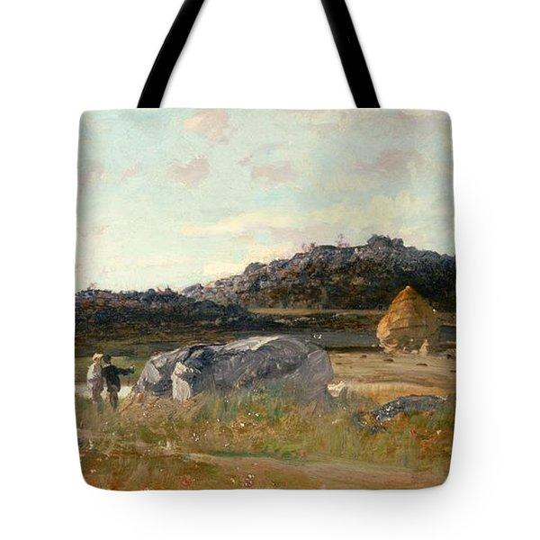 Summer Landscape Tote Bag by Luigi Loir