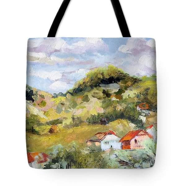 Summer Landscape Tote Bag