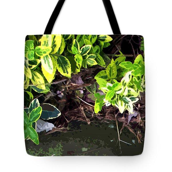 Summer Leaves Tote Bag by Spyder Webb