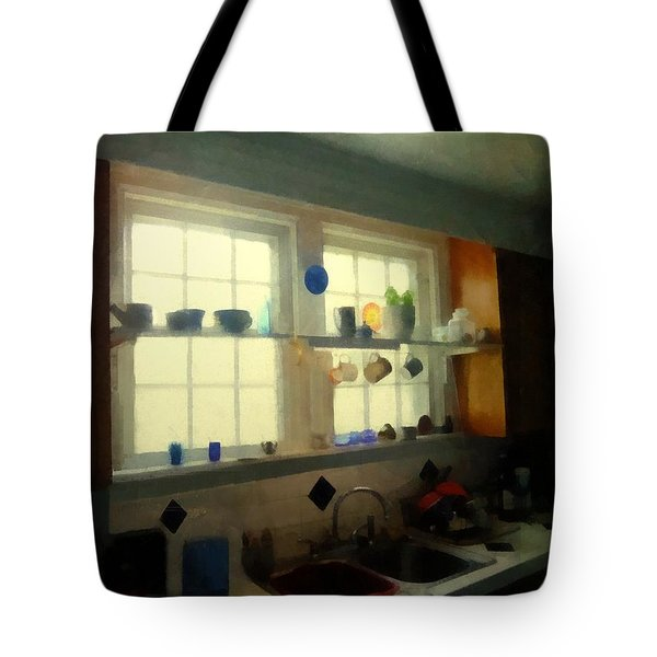 Summer Light In The Kitchen Tote Bag by RC deWinter