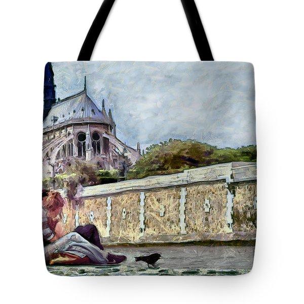 Tote Bag featuring the digital art Summer Love by Pennie McCracken