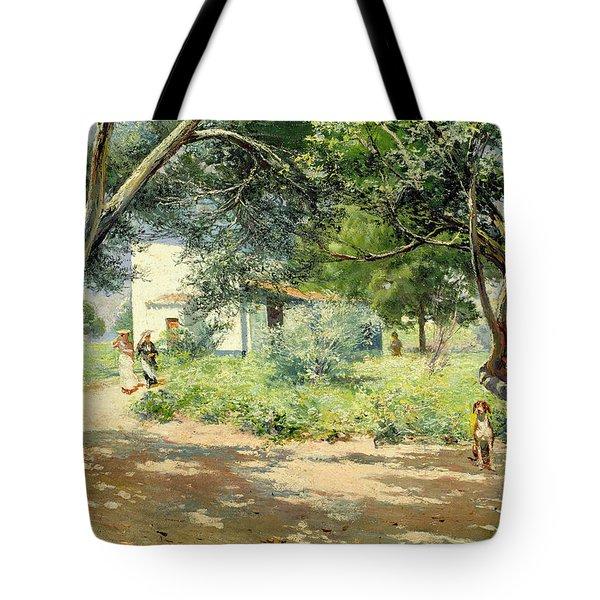 Summer  Tote Bag by Manuel Garcia y Rodriguez