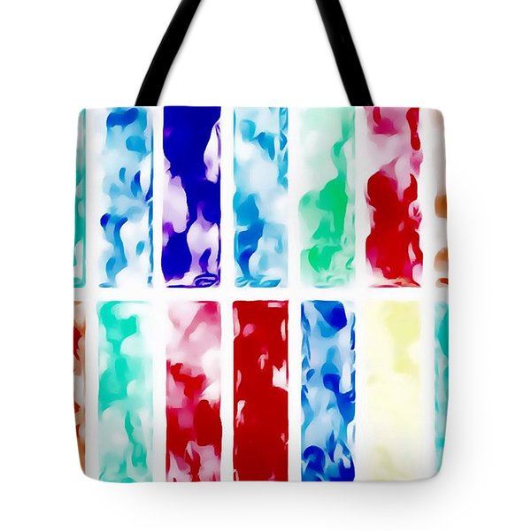 Tote Bag featuring the painting Summer by Mark Taylor