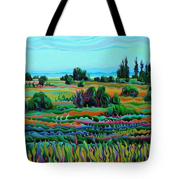 Summer Meadow Dance Tote Bag