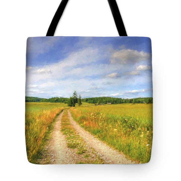 Summer Meadows Tote Bag