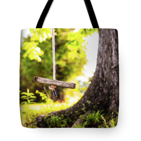 Tote Bag featuring the photograph Summer Memories On The Farm by Shelby Young