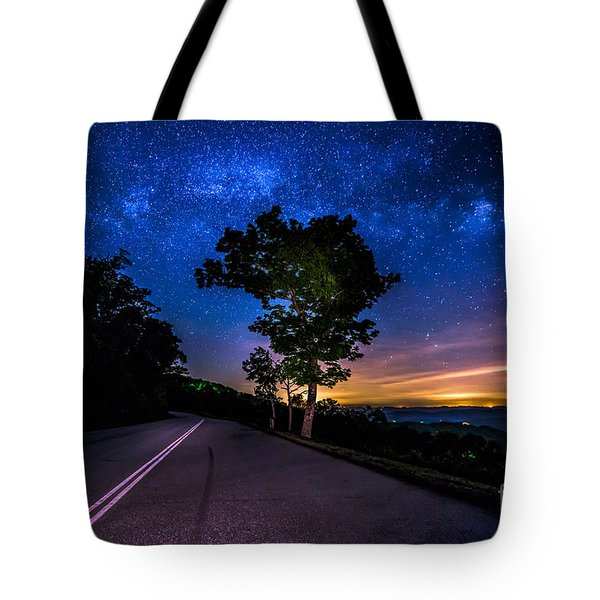 Summer Milky Way Tote Bag by Robert Loe