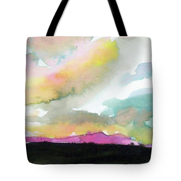 Summer Monsoon Tote Bag