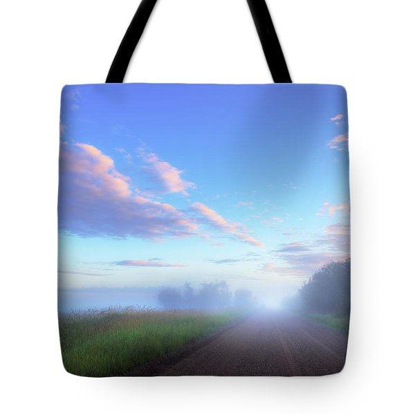 Tote Bag featuring the photograph Summer Morning In Alberta by Dan Jurak