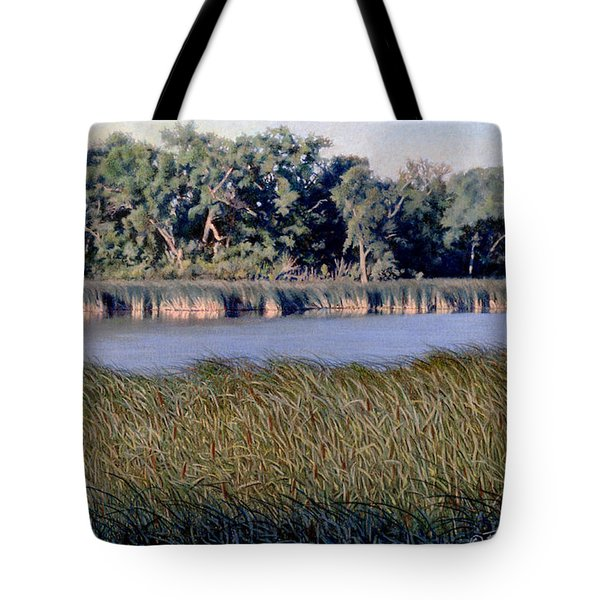 Summer Morning On The Slough Tote Bag